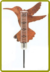Hummingbird Rain Gauge