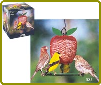 Apple Goldfinch Feeder