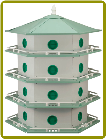 24 Room Purple Martin House
