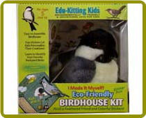 Bird House Kit Made From Recycled Plastic