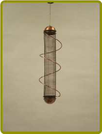 Copper Peanut Feeder 17in.