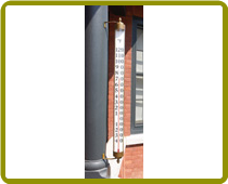 Vermont Estate Tmeter Brass