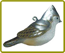 Tufted Titmouse Ornament