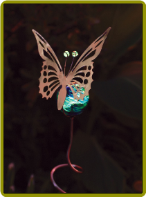 Illuminarie Butterfly Stake