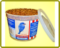 Value Tub Dried Mealworms (avg. count 10,000)
