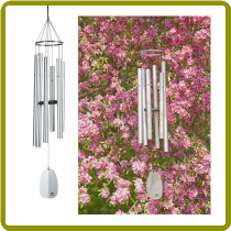 Windsinger Chimes of Athena - Silver