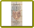 Hanging Owl Ceramic Outdoor Decor