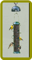 Super Spiral 18in. Sunflower Feeder/Twirl A Squirrel Combo