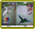 Hummingbird Fly Thru Bird Paint Kit