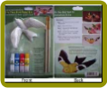 Gold Finch Fly Thru Bird Paint Kit