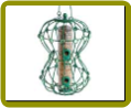 Hourglass Feeder Green 2 lb