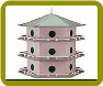 18 Room Purple Martin House