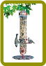 Copper 2-in-1 Bird Feeder