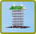 Finch Wire Feeder w/ Roof