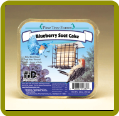 12 oz Blueberry Suet Cake