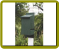 Recycled Bat House – Green