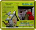 Bird Feeder Kit Made of Recycled Plastic