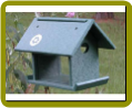 Recycled Bluebird Meal Worm Feeder