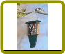 Suet Feeder with Tail Prop-Hunter Driftwood