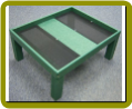 Recycled Ground Platform Feeder – Green