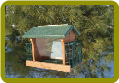 Going Green Recycled Plas. Ranch Feeder w/Suet