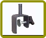 Deck Clamp Single Vertical Rail (#4) Match with:  3 - 4