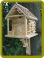 Natural Cabin Birdhouse