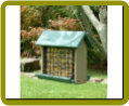 Recycled Suet Woodpecker Feeder (Holds 3# Suet Cakes/Blocks)